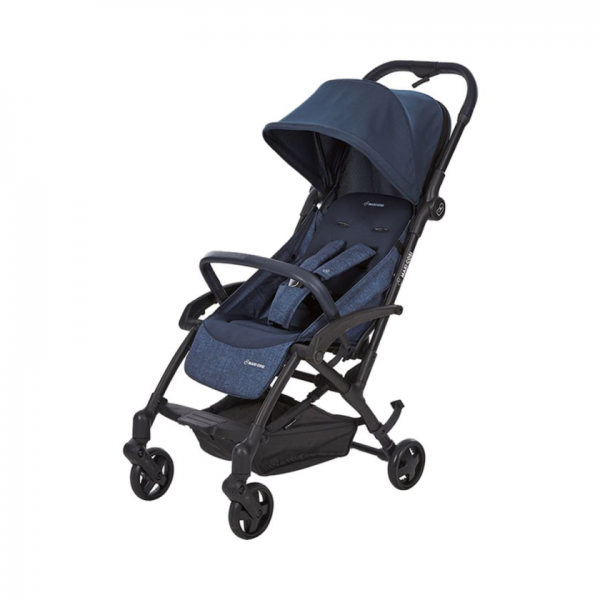 Maxi-Cosi 3-In-1 Laika Stroller (0-3.5 Years), Nomad Blue/Black